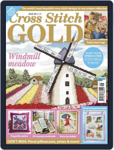 Cross Stitch Gold February 1st, 2018 Digital Back Issue Cover