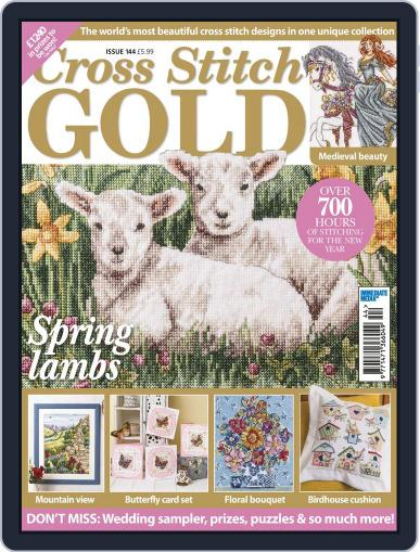 Cross Stitch Gold January 1st, 2018 Digital Back Issue Cover
