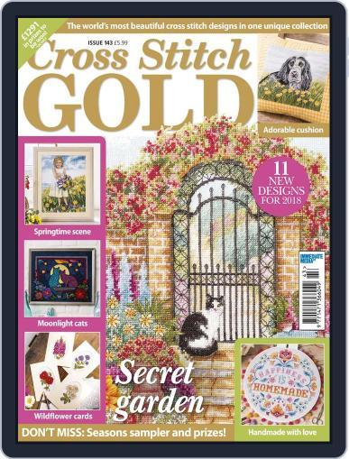 Cross Stitch Gold December 1st, 2017 Digital Back Issue Cover