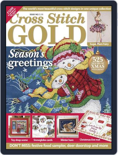 Cross Stitch Gold October 1st, 2017 Digital Back Issue Cover