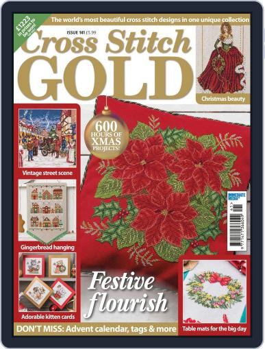 Cross Stitch Gold September 1st, 2017 Digital Back Issue Cover
