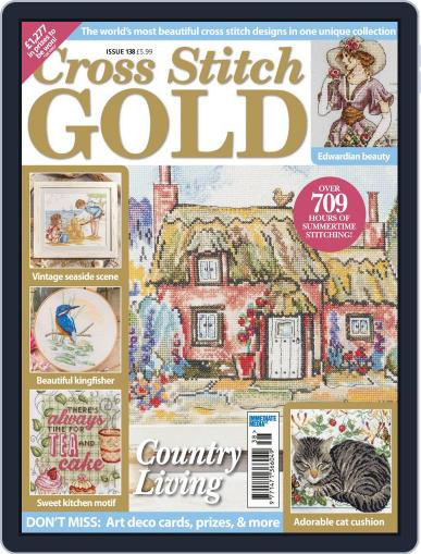 Cross Stitch Gold May 1st, 2017 Digital Back Issue Cover