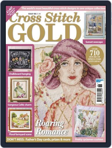 Cross Stitch Gold February 1st, 2017 Digital Back Issue Cover