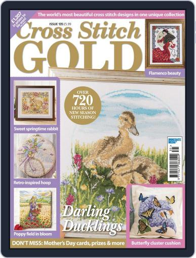 Cross Stitch Gold January 1st, 2017 Digital Back Issue Cover