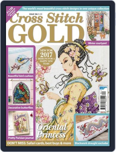 Cross Stitch Gold December 1st, 2016 Digital Back Issue Cover