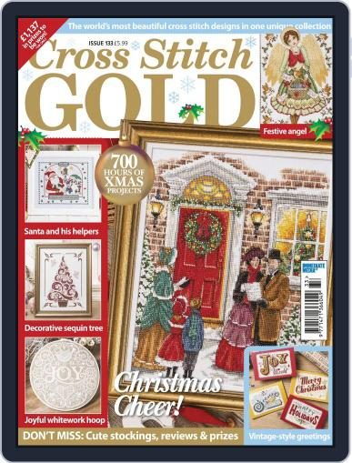 Cross Stitch Gold October 1st, 2016 Digital Back Issue Cover