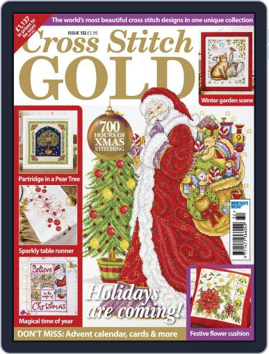Cross Stitch Gold September 1st, 2016 Digital Back Issue Cover
