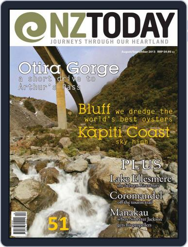 NZ Today (Digital) July 25th, 2013 Issue Cover