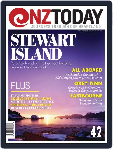 NZ Today (Digital) December 19th, 2011 Issue Cover