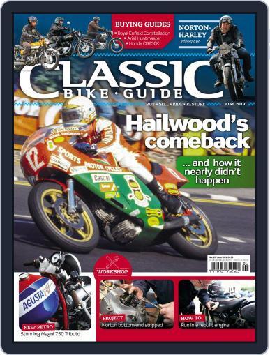 Classic Bike Guide (Digital) June 1st, 2019 Issue Cover