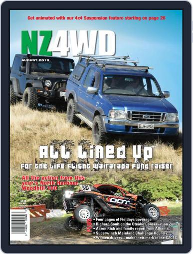 NZ4WD (Digital) August 1st, 2019 Issue Cover