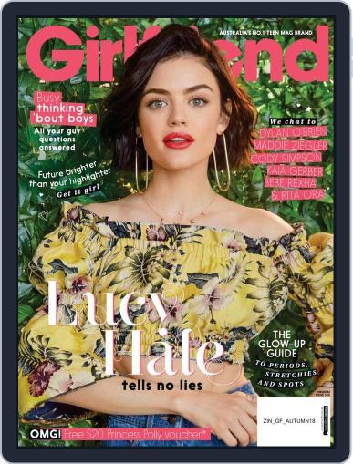 Girlfriend Australia April 1st, 2018 Digital Back Issue Cover