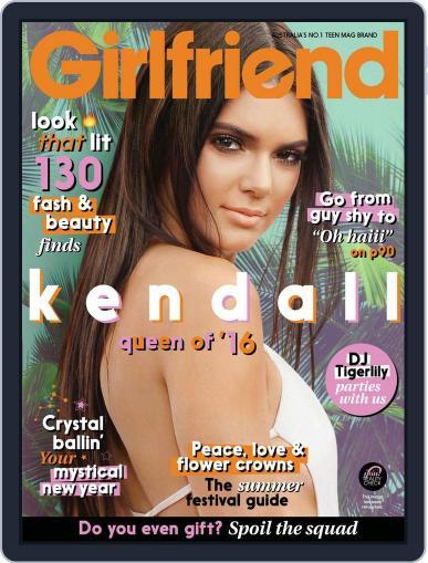 Girlfriend Australia December 1st, 2016 Digital Back Issue Cover