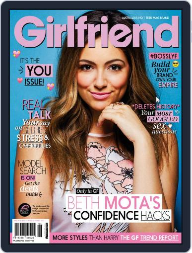 Girlfriend Australia May 9th, 2016 Digital Back Issue Cover