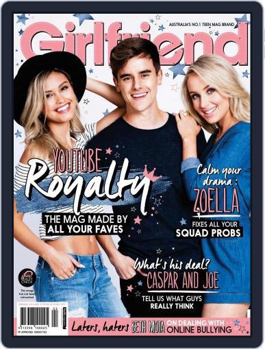 Girlfriend Australia January 6th, 2016 Digital Back Issue Cover