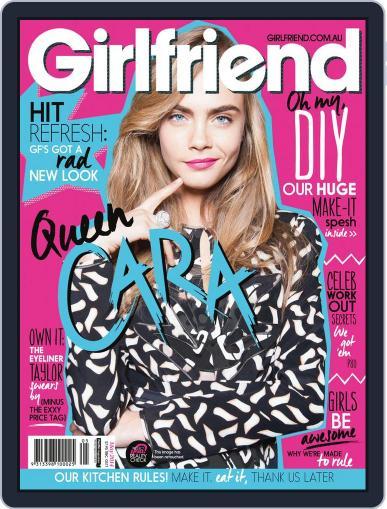 Girlfriend Australia April 23rd, 2014 Digital Back Issue Cover