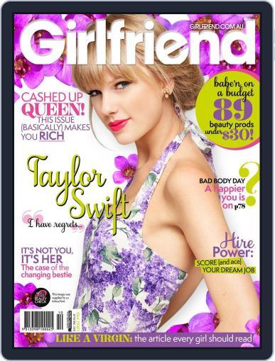 Girlfriend Australia (Digital) September 27th, 2013 Issue Cover