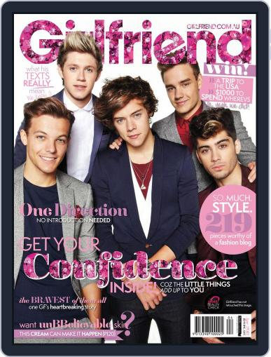 Girlfriend Australia (Digital) March 19th, 2013 Issue Cover