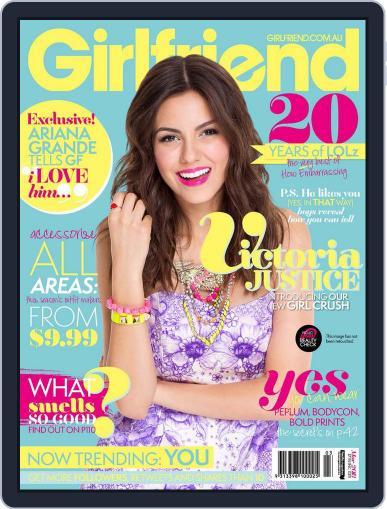 Girlfriend Australia (Digital) February 21st, 2013 Issue Cover