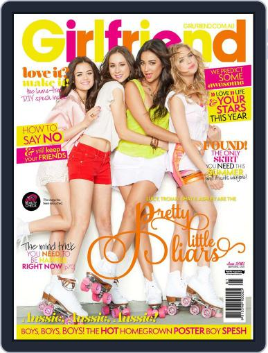 Girlfriend Australia (Digital) December 31st, 2012 Issue Cover