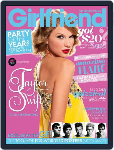 Girlfriend Australia (Digital) November 19th, 2012 Issue Cover