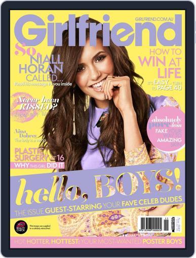 Girlfriend Australia (Digital) October 23rd, 2012 Issue Cover
