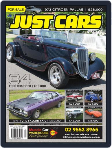 Just Cars (Digital) November 29th, 2019 Issue Cover