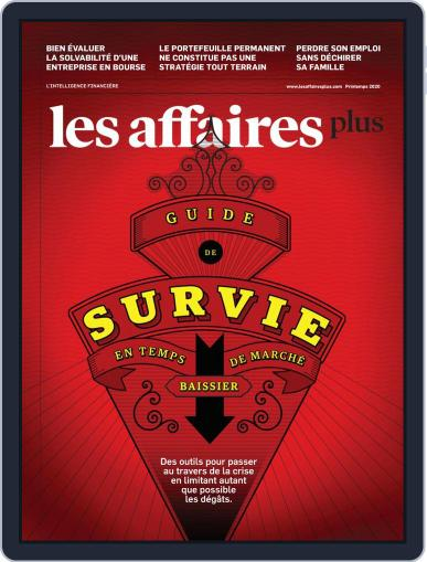 Les Affaires Plus March 31st, 2020 Digital Back Issue Cover