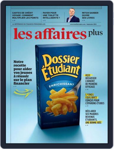 Les Affaires Plus September 1st, 2015 Digital Back Issue Cover