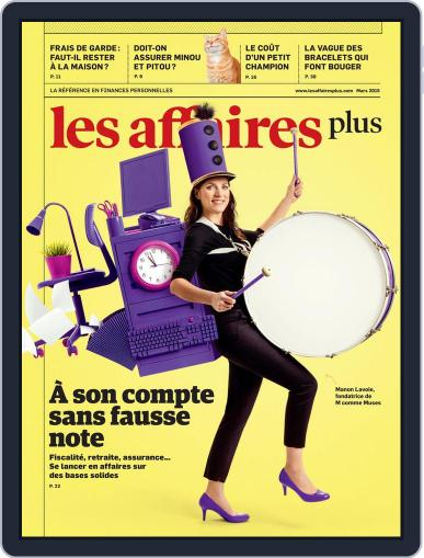 Les Affaires Plus March 1st, 2015 Digital Back Issue Cover