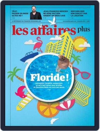 Les Affaires Plus November 1st, 2014 Digital Back Issue Cover
