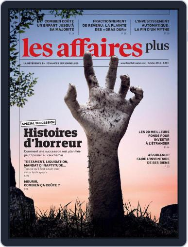 Les Affaires Plus October 1st, 2014 Digital Back Issue Cover