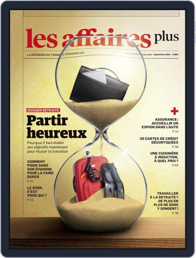 Les Affaires Plus August 27th, 2014 Digital Back Issue Cover