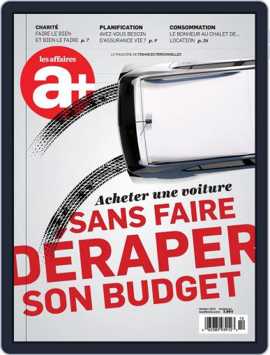 Les Affaires Plus October 2nd, 2013 Digital Back Issue Cover