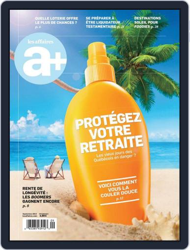 Les Affaires Plus August 28th, 2013 Digital Back Issue Cover
