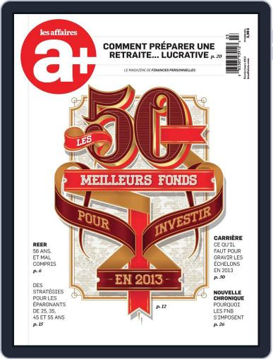 Les Affaires Plus February 8th, 2013 Digital Back Issue Cover