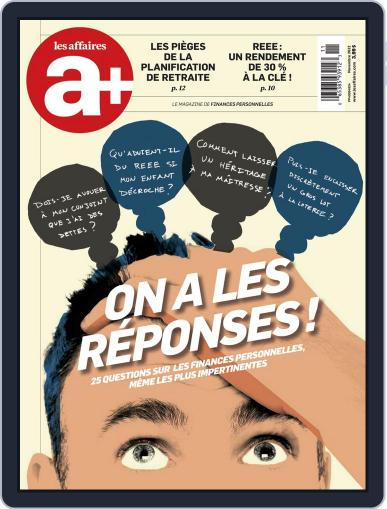 Les Affaires Plus October 31st, 2012 Digital Back Issue Cover