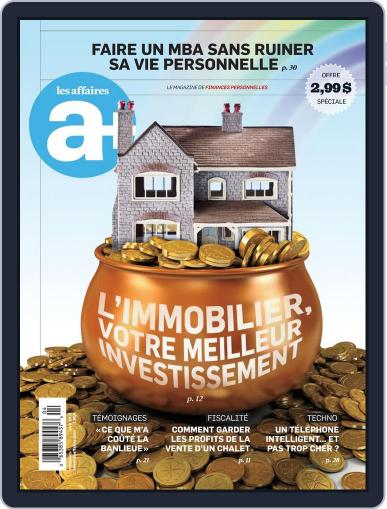 Les Affaires Plus March 21st, 2012 Digital Back Issue Cover