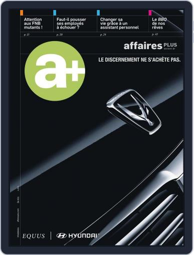 Les Affaires Plus June 8th, 2011 Digital Back Issue Cover