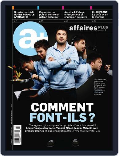 Les Affaires Plus December 1st, 2010 Digital Back Issue Cover