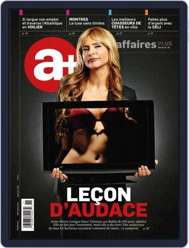 Les Affaires Plus October 22nd, 2010 Digital Back Issue Cover