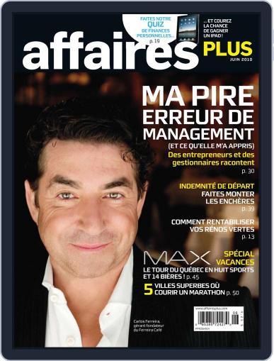 Les Affaires Plus June 9th, 2010 Digital Back Issue Cover