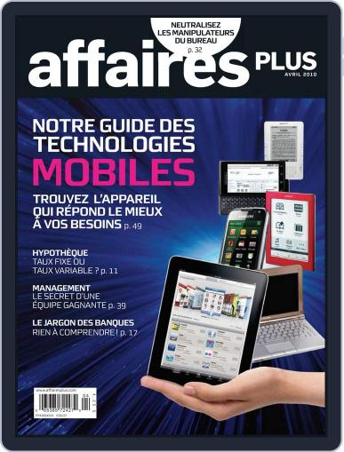 Les Affaires Plus March 16th, 2010 Digital Back Issue Cover