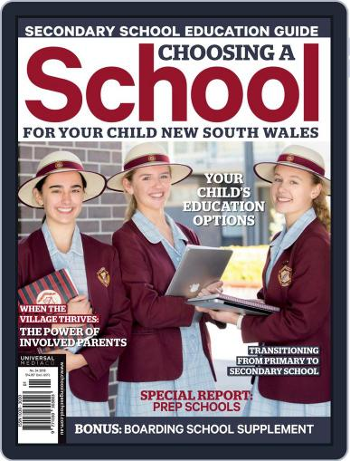 Choosing A School For Your Child Nsw Magazine (Digital) May 30th, 2018 Issue Cover