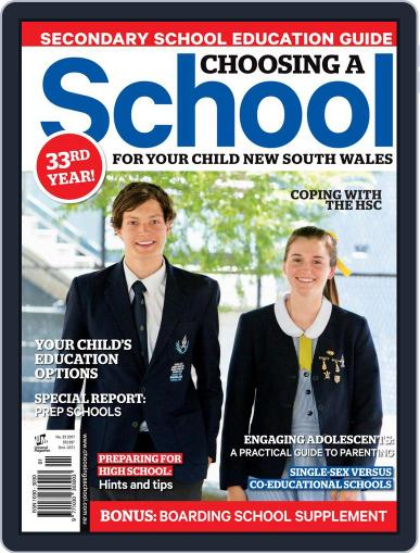 Choosing A School For Your Child Nsw Magazine (Digital) June 28th, 2017 Issue Cover