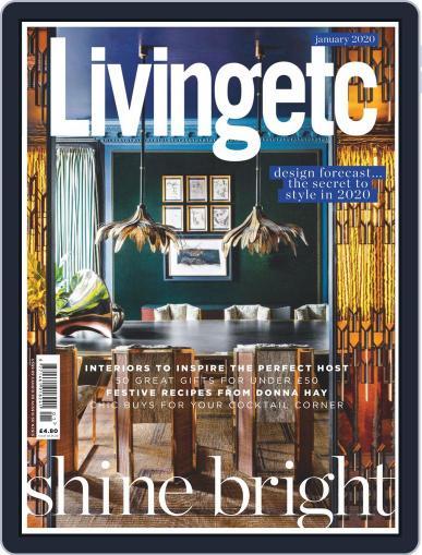Living Etc (Digital) January 1st, 2020 Issue Cover