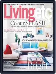 Living Etc (Digital) Subscription April 1st, 2017 Issue