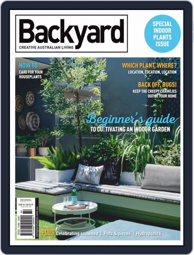 Backyard and Outdoor Living May 1st, 2020 Digital Back Issue Cover