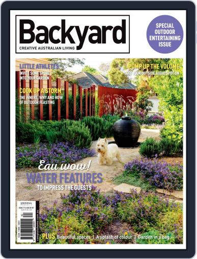 Backyard and Outdoor Living March 1st, 2020 Digital Back Issue Cover