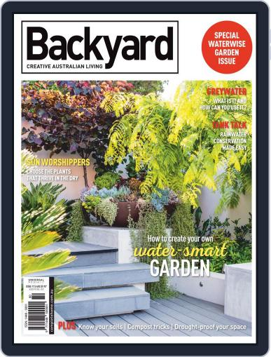 Backyard and Outdoor Living January 1st, 2020 Digital Back Issue Cover